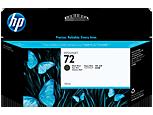 HP 72, Струйный картридж HP, 130 мл, Черный матовый