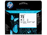 HP 72, Печатающая головка HP, Серая и Черная фото