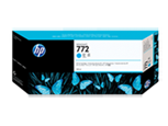 Cartucho de tinta HP Designjet 772 cian de 300 ml
