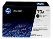 Cartucho de tóner HP 70A LaserJet, negro