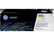 Cartucho de tóner HP 305A LaserJet, amarillo