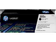 Cartucho de tóner HP 305A LaserJet, negro