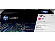 Cartucho de tóner HP 305A LaserJet, magenta