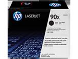 Cartucho original de tóner negro de alto rendimiento HP 90X LaserJet
