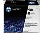 Cartucho original de tóner negro HP 90A LaserJet