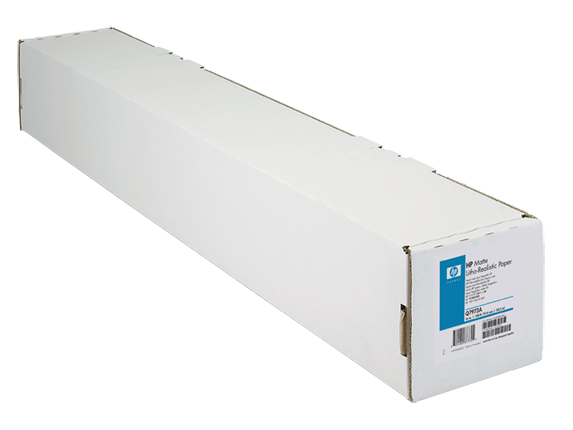 HP Mat Lito-gerçekçi Kağıt, 914 mm x 30,5 m (36 inç x 100 ft)