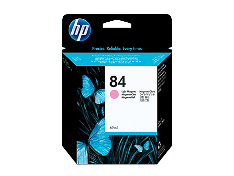 HP 84 69-ml Light Magenta Ink Cartridge