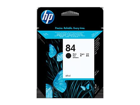 HP 84 Schwarz DesignJet Tintenpatrone, 69 ml