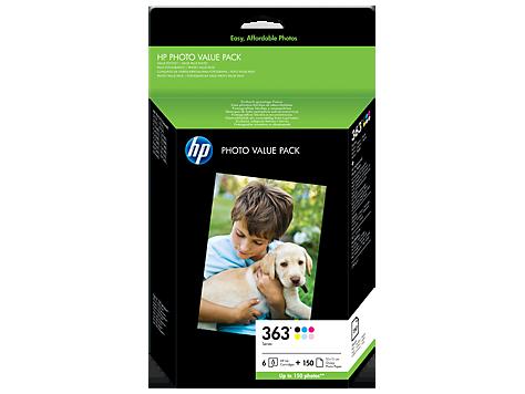 Balenie fotopapiera Value radu HP 363 – 150 listov, 10 x 15 cm