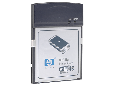 HP 802.11g CompactFlash Printer Adapter