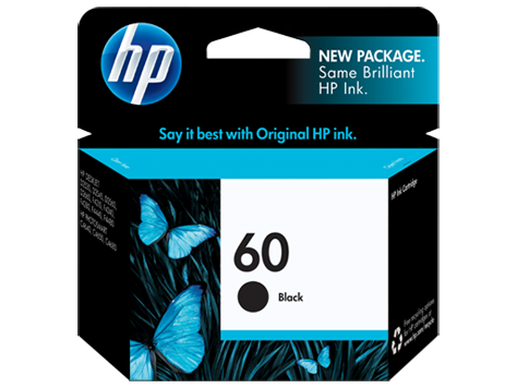 HP 60 CC640WN Black Original Ink Cartridge