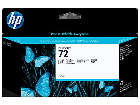 Cartucho de tinta DesignJet HP 72 de 130ml negro fotográfico
