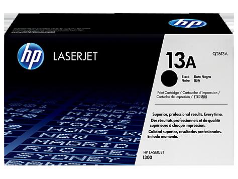Cartucho original de tóner negro HP 13A LaserJet