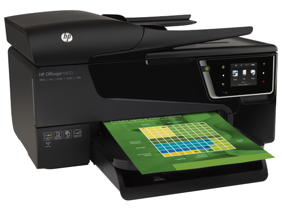 HP Officejet 6600 e-All-in-One printer