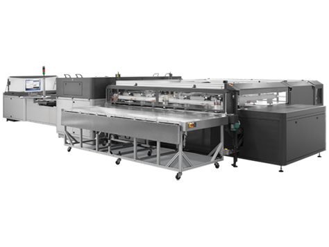 Presse industrielle FB7600 HP Scitex