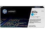 Cartucho original de tóner cian HP 651A LaserJet