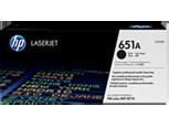 Cartucho original de tóner negro HP 651A LaserJet