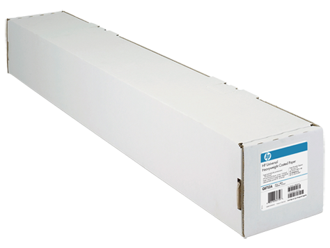 HP Universal Heavyweight Coated Paper-1067 mm x 30.5 m (42 in x 100 ft)
