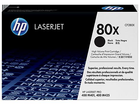 HP Toner 80X black - HP - 886111144150 - 1