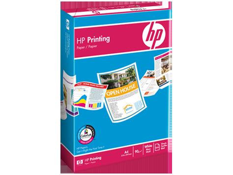 Papel HP para impressão de 90 gramas - 500 folhas/A4/210 x ...