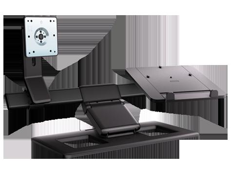 惠普显示器和笔记本电脑支架 (aw662aa)