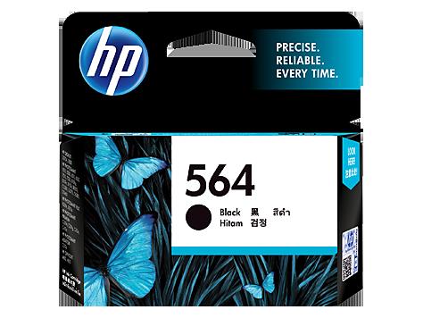 HP 564 黑色原廠墨盒