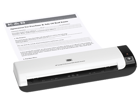 Scanner HP Scanjet Professional 1000 Mobile