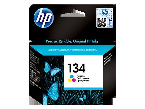 HP 134 cartouche d'encre trois couleurs authentique