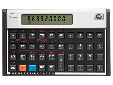 HP 12C Platinum Financial Calculator(F2231AA)| HP® United States