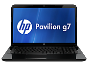 HP Pavilion g7-2300 Notebook PC series