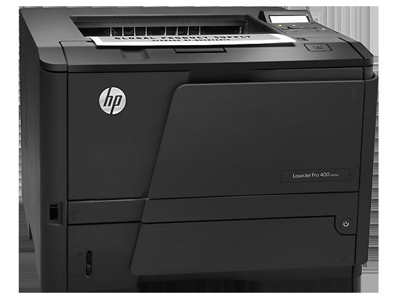 مشكلة تعريف طابعة HP Laser Jet Pro 400 M401A