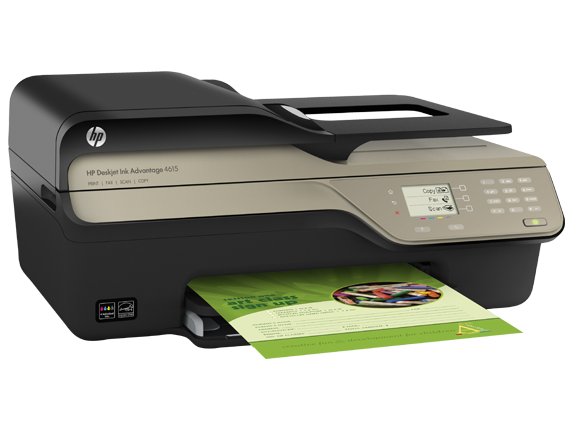 HP Deskjet Ink Advantage 4615 Printer/Scanner/Copier/Fax/ADF