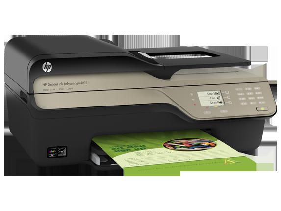 HP Deskjet Ink Advantage 4615 Printer/Scanner/Copier/Fax/ADF