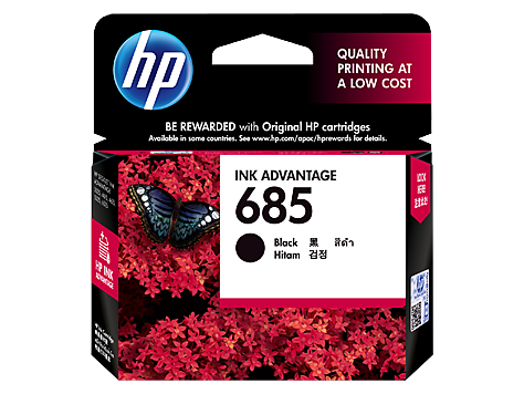 HP 685 Black Original Ink Advantage Cartridge