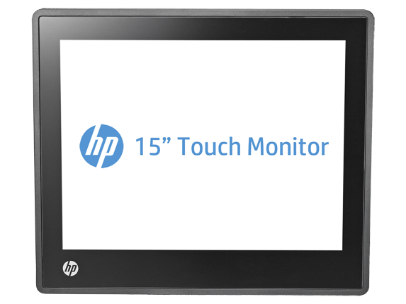 hp l6015tm 15 inch retail touch monitor a1x78aa hp. Black Bedroom Furniture Sets. Home Design Ideas