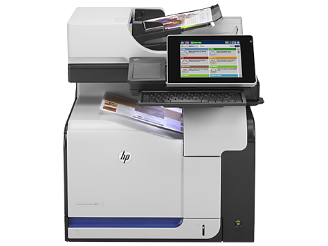 Imprimante multifonctions couleur HP LaserJet Enterprise flow M575c
