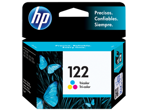 Cartucho original de tinta tricolor HP 122