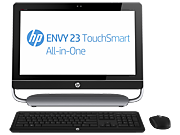 HP ENVY 23-d100 TouchSmart All-in-One Desktop PC series