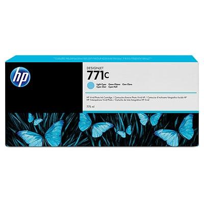 HP 771C 775-ml Light Cyan DesignJet Ink Cartridge