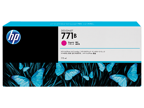 HP 771B 775-ml Magenta Designjet Ink Cartridge
