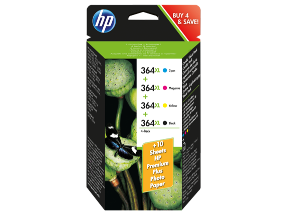 hp 364xl ink cartridge combo value pack sm596ee hp. Black Bedroom Furniture Sets. Home Design Ideas
