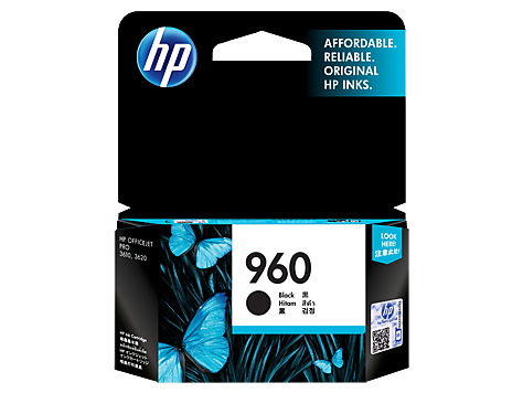 HP 960 Black Original Ink Cartridge