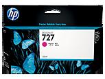Cartucho de tinta HP Designjet 727 magenta de 130 ml