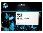 Cartucho de tinta HP Designjet 727 negro mate de 130 ml