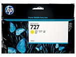 Cartucho de tinta HP Designjet 727 amarillo de 130 ml