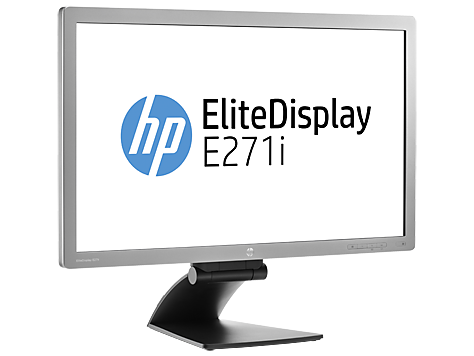 Hp elitedisplay e271i 27 inch ips led backlit monitor for Ecran ips 27