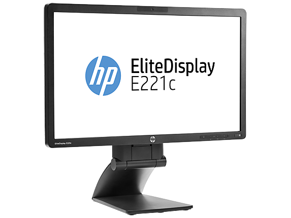 Hp Elitedisplay E221c 54 6 Cm 21 5 Quot Webcam Led Backlit