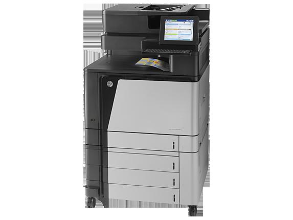 Impresora multifunción HP Color LaserJet Enterprise Flow M880z