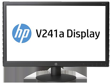 HP V241a 59,94 cm (23,6 inç) LED Arkadan Aydınlatmalı Monitör (ENERGY STAR)