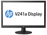 HP V241a 59,94 cm (23.6'') LED Backlit Monitor (ENERGY STAR)